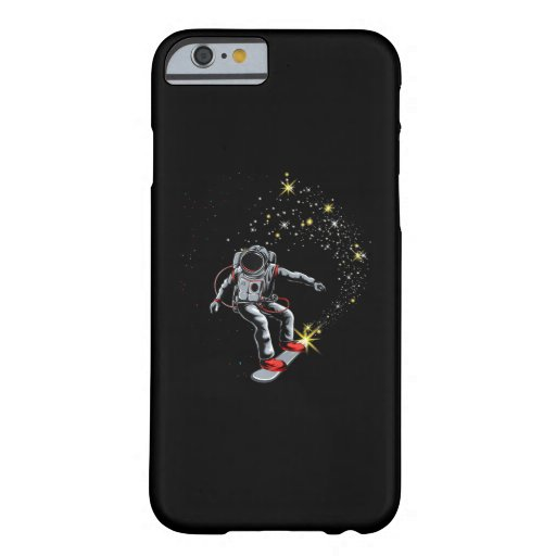 Astronaut Skateboard Skating Space Skateboarder Barely There iPhone 6 Case