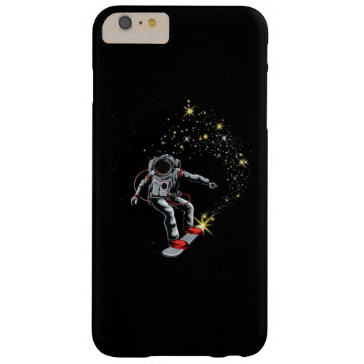Astronaut Skateboard Skating Space Skateboarder Barely There iPhone 6 Plus Case