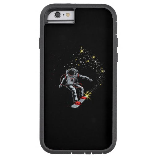 Astronaut Skateboard Skating Space Skateboarder Tough Xtreme iPhone 6 Case