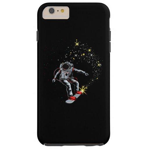 Astronaut Skateboard Skating Space Skateboarder Tough iPhone 6 Plus Case