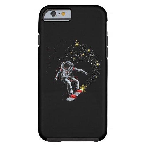 Astronaut Skateboard Skating Space Skateboarder Tough iPhone 6 Case