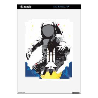 Astronaut Decals For iPad 2