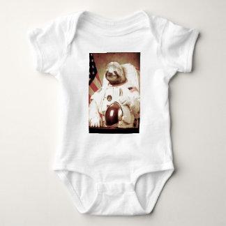 Astronaut Sloth Baby Bodysuit