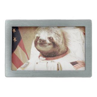 Astronaut Sloth Belt Buckle