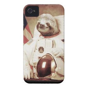 Astronaut Sloth Case-Mate iPhone 4 Case