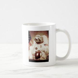 Astronaut Sloth Classic White Coffee Mug
