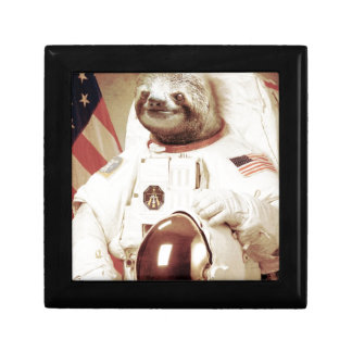 Astronaut Sloth Gift Box