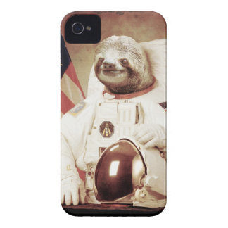 Astronaut Sloth iPhone 4 Case-Mate Case