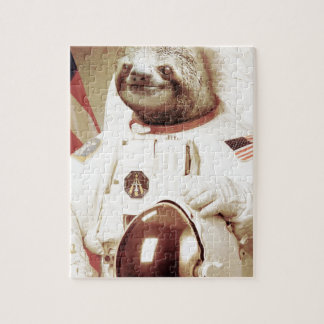 Astronaut Sloth Jigsaw Puzzles