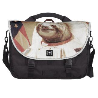 Astronaut Sloth Commuter Bag