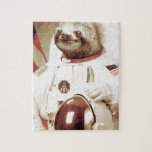 Astronaut Sloth Puzzle