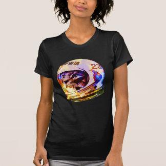 Astronaut Space Cat (deep galaxy version) T-Shirt