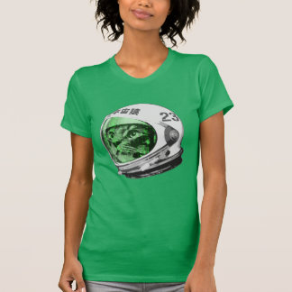 Astronaut Space Cat (green screen version) T-Shirt