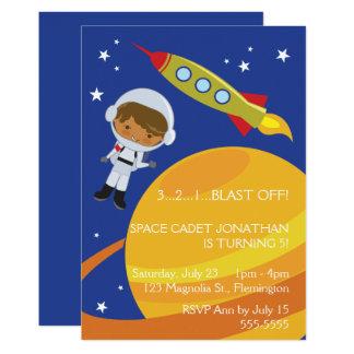 Astronaut Space Explorer Birthday Card