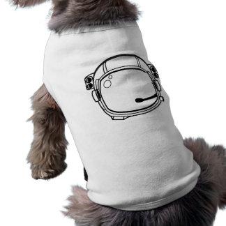 Astronaut Space Helmet Dog Tshirt