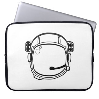 Astronaut Space Helmet Laptop Sleeve