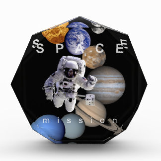 astronaut space mission solar system planets award