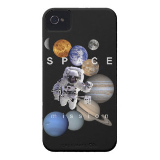 astronaut space mission solar system planets iPhone 4 cover