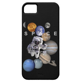 astronaut space mission solar system planets iPhone SE/5/5s case