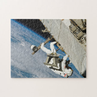 Astronaut Space Walk Jigsaw Puzzle