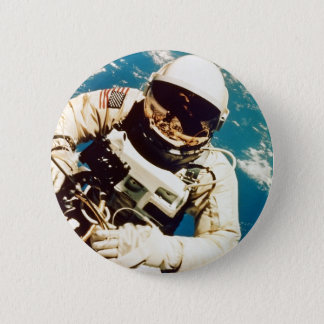 Astronaut Spacewalk Button