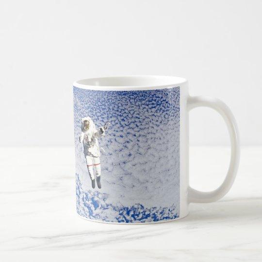 Astronaut Spacewalk Coffee Mug