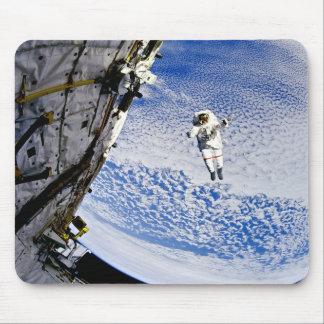 Astronaut Spacewalk Mouse Pad