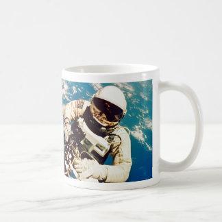 Astronaut Spacewalk Classic White Coffee Mug