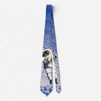 Astronaut Spacewalk Neck Tie