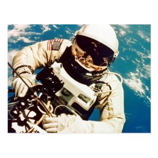 Astronaut Spacewalk Post Cards
