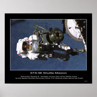 Astronaut Tamara E. Jernigan Poster