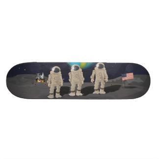 Astronaut USA Moon Landing Skateboard
