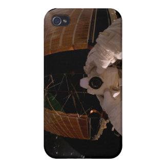 Astronaut uses a digital still camera iPhone 4 cover