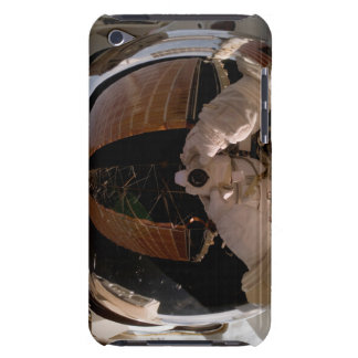 Astronaut uses a digital still camera iPod touch cover