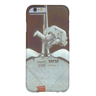 Astronaut uses arm_Space Barely There iPhone 6 Case