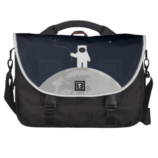 Astronaut with a Kite Bag For Laptop