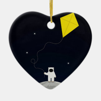 Astronaut with a Kite Christmas Tree Ornament