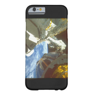 Astronaut with satellite_Space Barely There iPhone 6 Case
