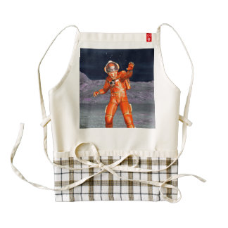 Astronaut Zazzle HEART Apron