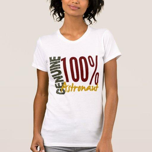 Astronauta auténtico camisetas