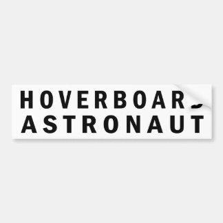 Astronauta de Hoverboard Pegatina Para Auto