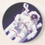 Astronauta de la NASA Posavasos Cerveza
