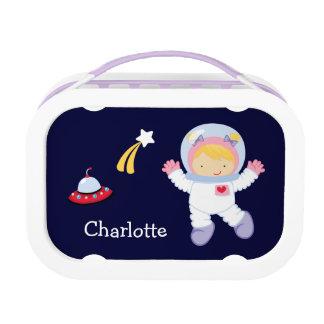 Astronauta de la niña