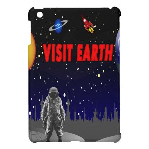 Astronauta de la tierra de la visita iPad mini cobertura