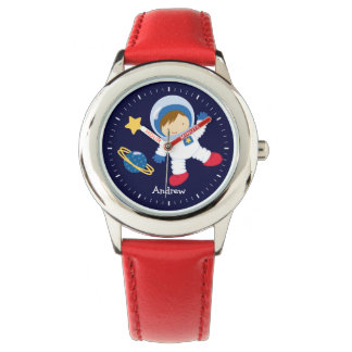 Astronauta de Little Boy personalizado Relojes De Pulsera