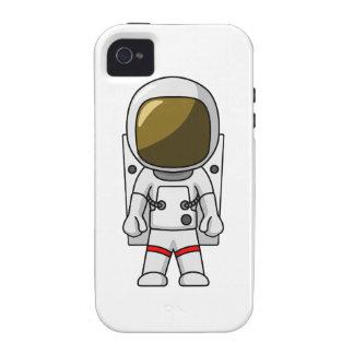 Astronauta del dibujo animado Case-Mate iPhone 4 carcasa