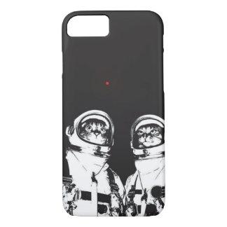 Astronauta del gato funda iPhone 7
