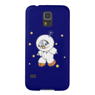 Astronauta del pingüino del penique carcasa de galaxy s5