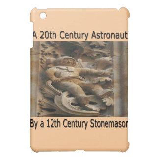 Astronauta del siglo XX del cantero del siglo XII