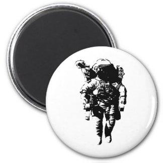 Astronauta en espacio imán redondo 5 cm